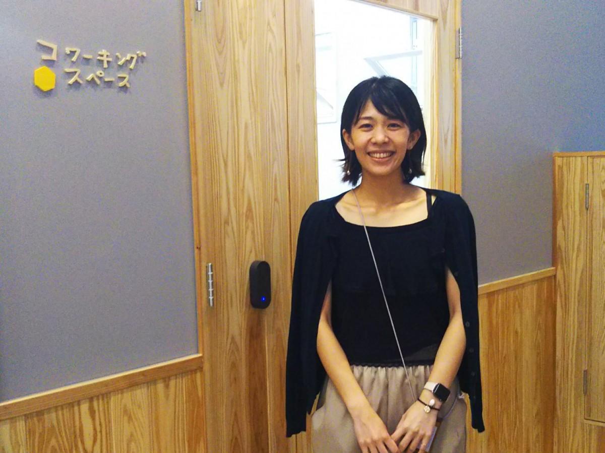 UIキャスト代表の天野朋美さん