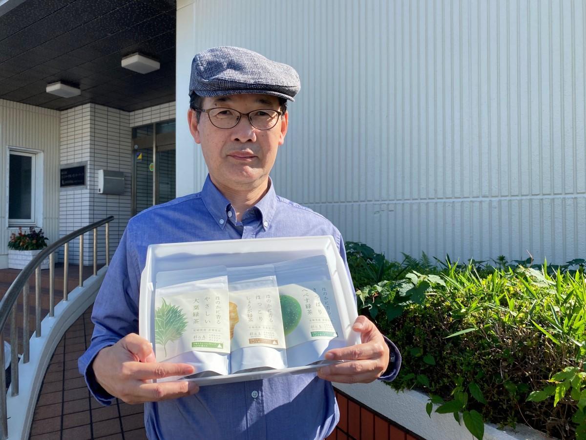 企画、製造した社長の松田泰幸さん
