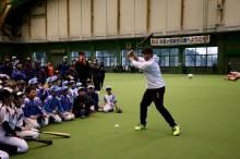宮崎・日向で「チーム内川」が野球教室 子どもから「今年の目標は」と質問も