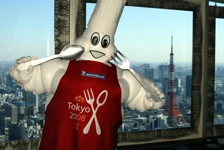 東京の街には191もの星が輝く©MICHELIN2007
