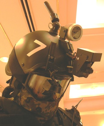 研究発表会で公開された「防衛省ガンダム」