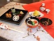 前回の「花鳥風月の会」ではおせち料理のレッスンを開講した。