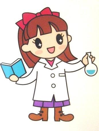 「科学のマドンナプロジェクト」のイメージキャラクター「マドンナちゃん」