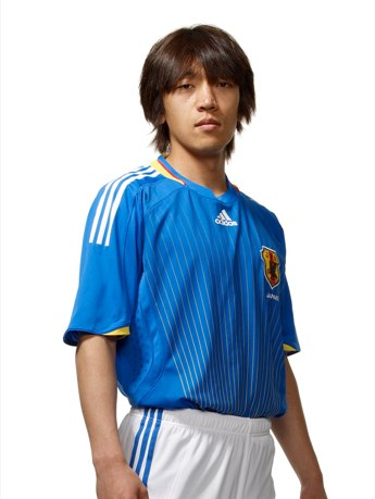 写真=中村俊輔選手©2008 adidas Japan