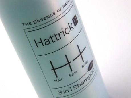 ヘア・フェース・ボディーを1本で洗える「ハットトリック イレブン」