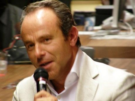 9月4日に行われたトークショーでのミシュランガイド総責任者ジャン=リュック・ナレさん
