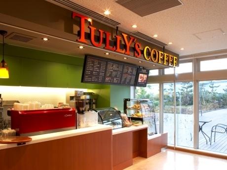 写真=昨年6月にオープンした「タリーズコーヒー 癌研有明病院店」