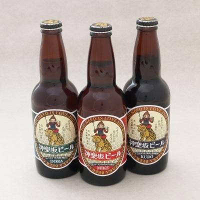 6月26日に発売された3種類の神楽坂ビール