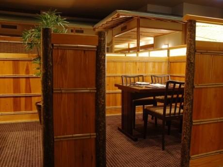 特別メニューを提供するホテルメトロポリタン エドモント内の日本料理「平川」