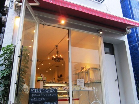 「季節のデザートコース」の提供を開始した神楽坂のデザート専門店「アトリエコータ」