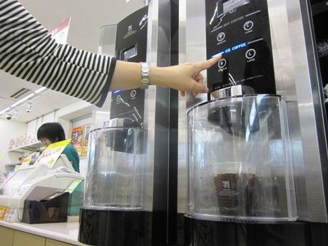 累計販売数5000万杯を突破したセルフ式ドリップコーヒー「SEVEN CAFE(セブンカフェ)」