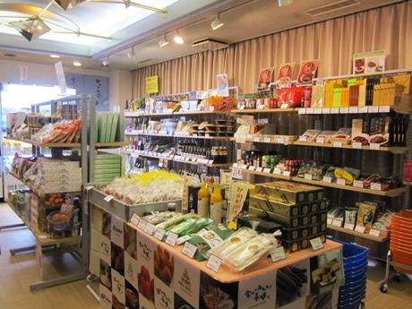 四ツ谷にオープンした長崎県首都圏営業拠点内の県産品販売コーナー「長崎よかもんショップ・四谷」
