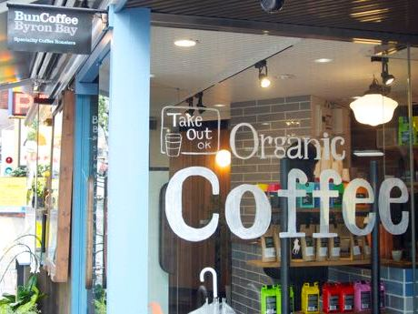 市ケ谷駅近くの新坂沿いにオープンしたコーヒーショップ「Bun Coffee」