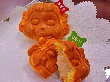 定番メニュー「小倉あん」(125円)とリッチ系メニュー「バナナミルククリーム」(140円)