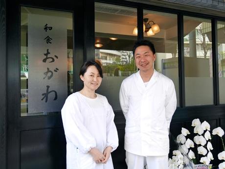オーナー店主の小川夫妻