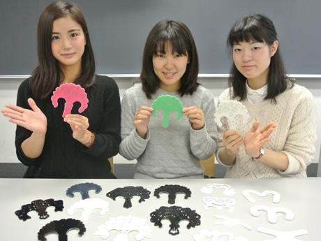 「OTTO」を開発した大澤さん、奥原さん、水上さん(左から)