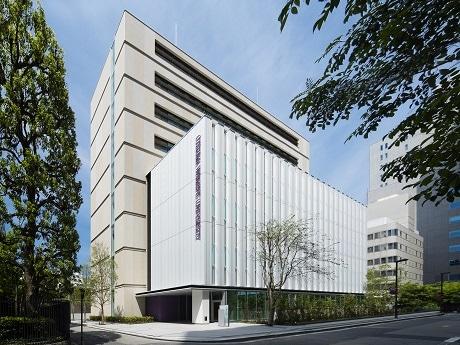 千代田キャンパスに完成した大妻女子大学の新校舎「H棟」