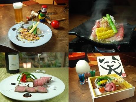 神楽坂の古民家レストラン4店舗ではしご酒イベント「ほろ酔い散歩」を開催。各店で特製料理1品とドリンク1杯を提供する