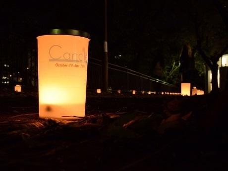 外濠公園遊歩道で今年で8年目を迎えるキャンドルナイトイベント「外濠キャンナーレ」を開催(画像=過去開催時の様子)
