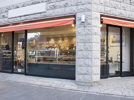 麹町にオープンしたベーカリー&スイーツショップ「エーデッガー・タックス by Neues(ノイエス)」店舗外観