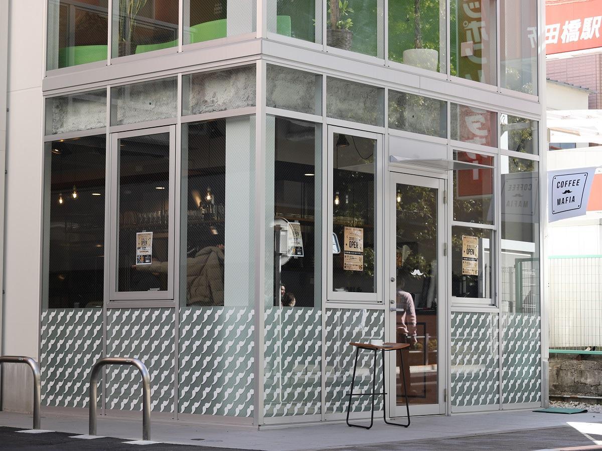 飯田橋にオープンするコーヒースタンド「coffee mafia」&天ぷらバル「YORU MAFIA」