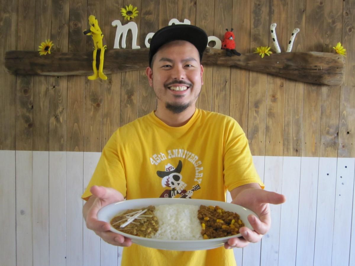 市ケ谷の人気カレー店・カフェドモモが新メニュー「マーボーカレー」を発売