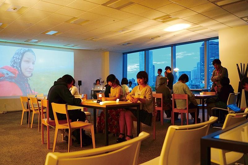 市ケ谷に武蔵野美術大学がキャンパス新設(画像=都心キャンパスの授業風景イメージ)