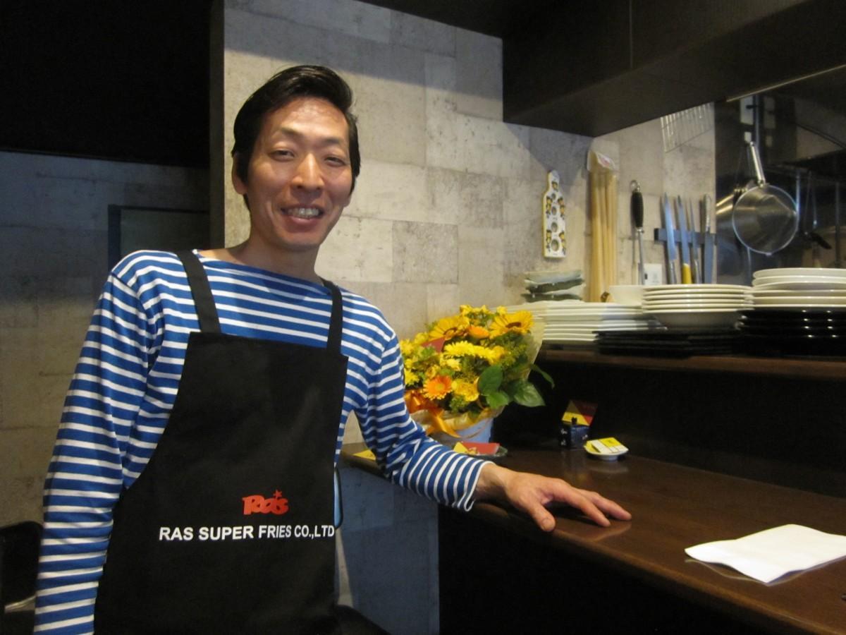 四谷荒木町にイタリアンレストラン「Sole di Italy」がオープン(画像=店主の小林到さん)
