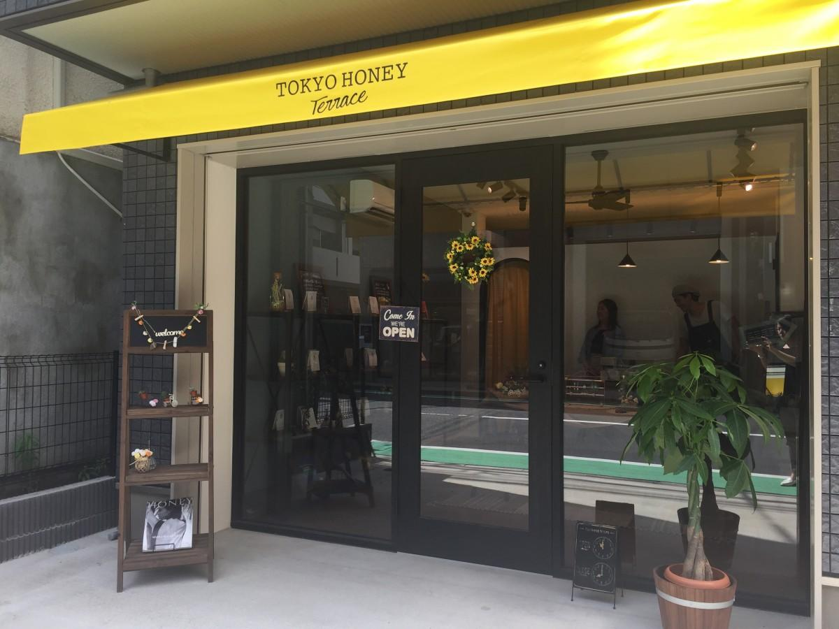 裏神楽坂の一角にオープンしたセレクトショップ「TOKYO HONEY Terrace」