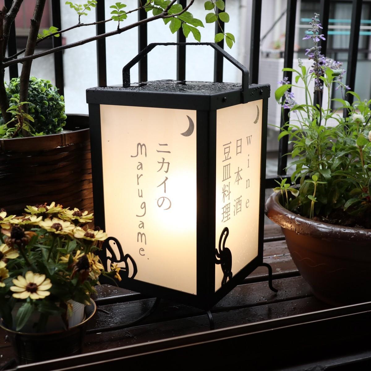 神楽坂・小栗通りのワインダイニング「marugame(まるがめ)」2階にワインと日本酒と豆皿料理の店「ニカイのmarugame」がオープン