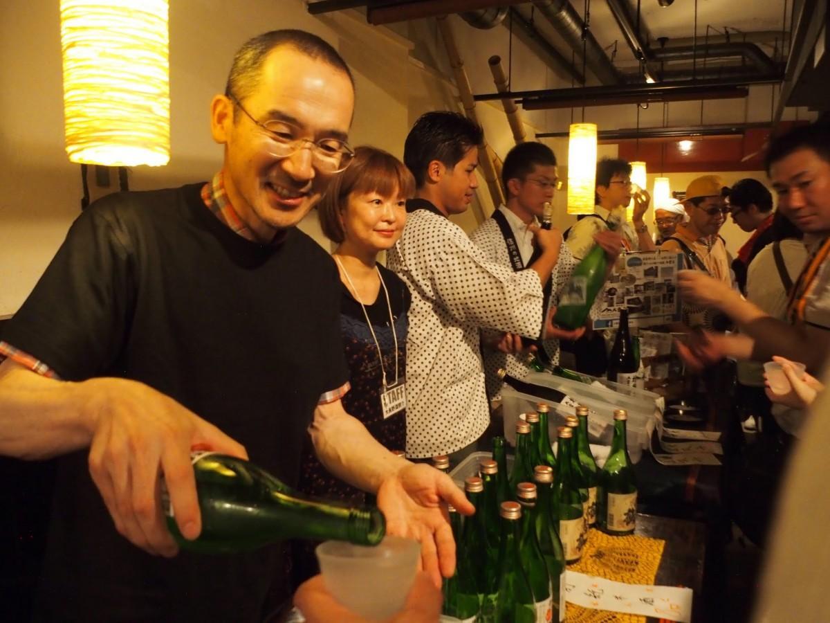 長野県の日本酒を集めたイベント「大長野酒祭り2018in四ツ谷」が今年も開催(画像=過去開催時の様子)