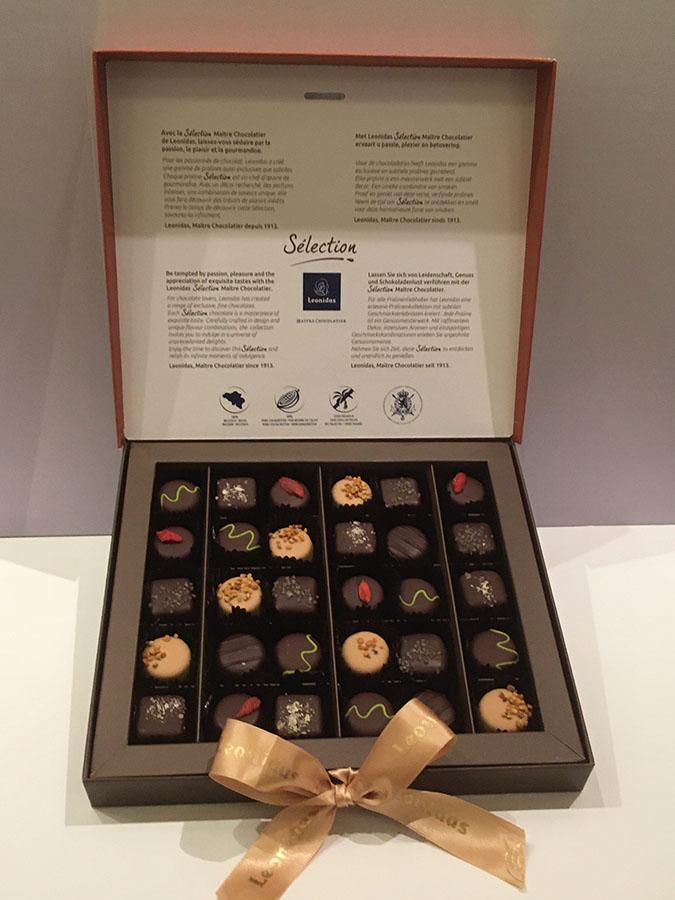 レオニダスの日本初上陸チョコレートコレクション「セレクション」