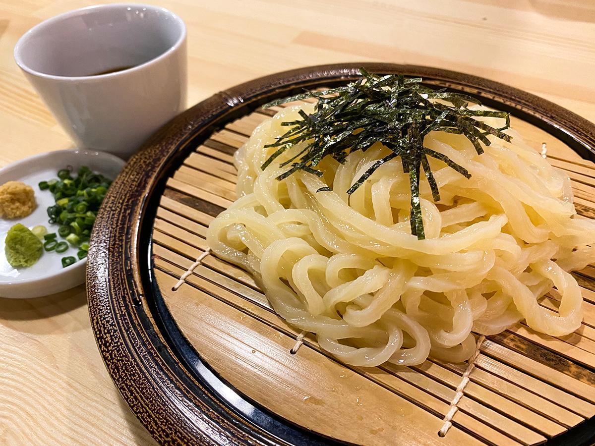 自家製麺 ざるうどん(冷)