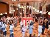 飯田橋・ホテルメトロポリタン エドモントで夏祭り 宴会場にやぐらや屋台