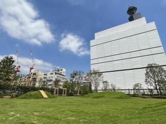 日本テレビ、二番町社屋跡に「番町の森」 地域に根付いた自然広場に