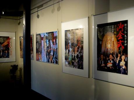 雑司が谷案内所の「御会式ポスター展」