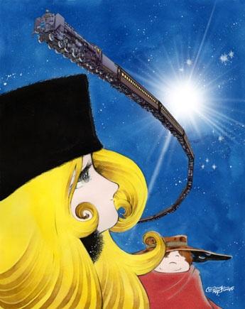 「旅立ち」版画・8号大(12万6,000円)