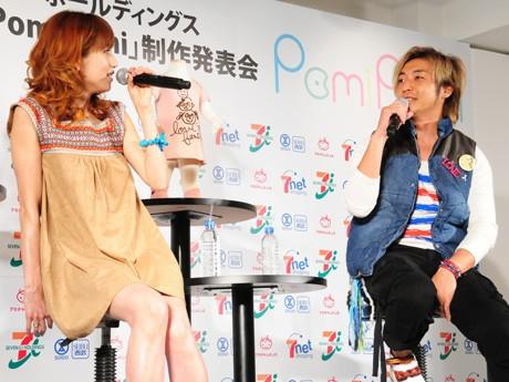 hitomiさんとつるの剛士さんによるトークセッション