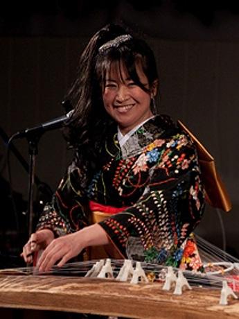 箏奏者の松山夕貴子さん