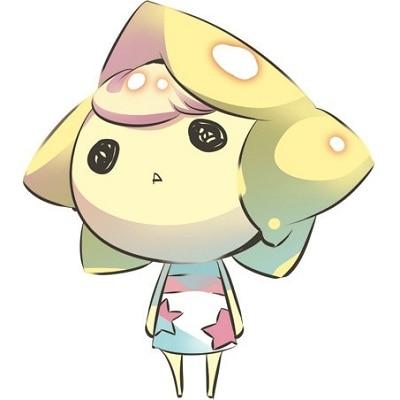 ステラワースマスコット「ステラさん」。キャラクターデザインはイラストレーターの由良さん。