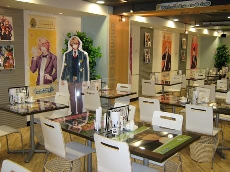 「アニメイトカフェ」店内