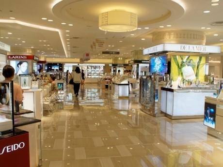 東武百貨店池袋店2階にオープンした化粧売り場