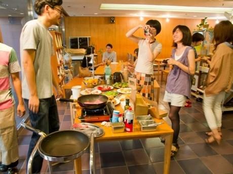 朝食イベントの様子(過去開催時)