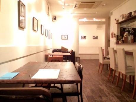 「togomamaカフェ」店内