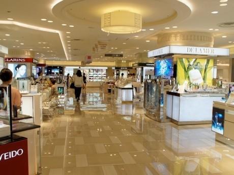昨年リニューアルオープンした 東武百貨店池袋店の化粧品売り場