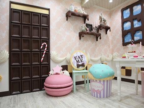 「お菓子の部屋」のシチュエーション