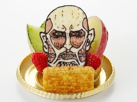 「『超大型巨人を駆逐し、果物を確保せよ!』デザート」(830円)