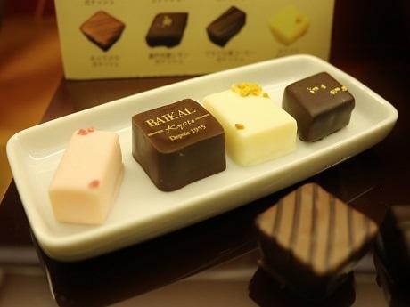西武池袋本店で開催中のチョコレート・フェア
