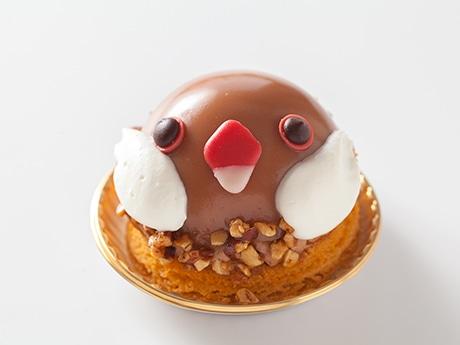 執事喫茶パティスリースワロウテイルによるシナモン文鳥ケーキ(500円)