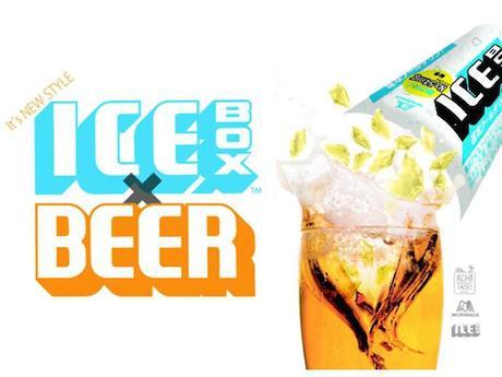 「ICEBOX」をビールに入れる新しいスタイル